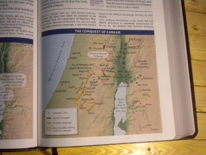 Thomas Nelson's King James Study Bible Full-Color Maps